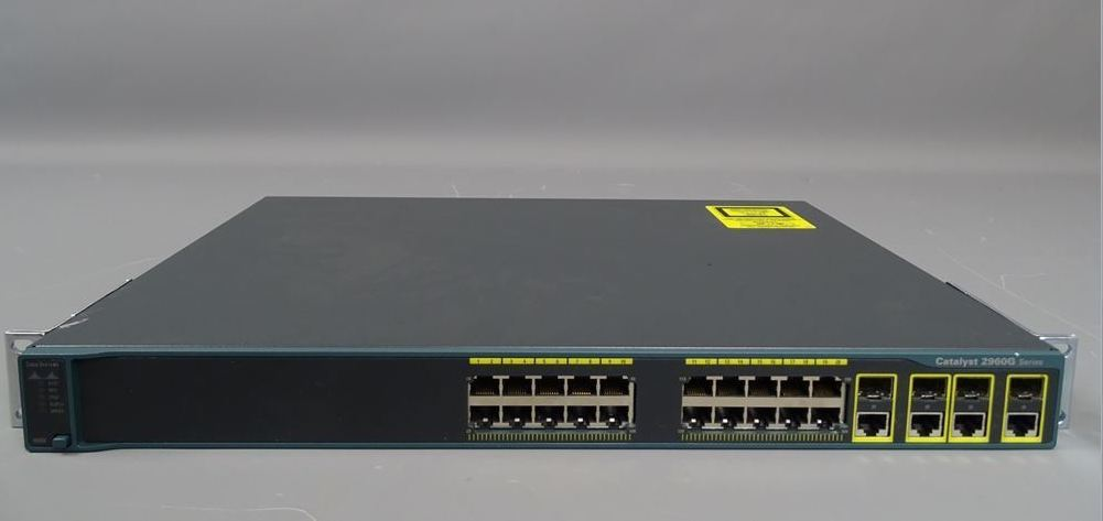 Cisco Ws C2960g 24tc L 24 Port Gigabit Switch Refurbished