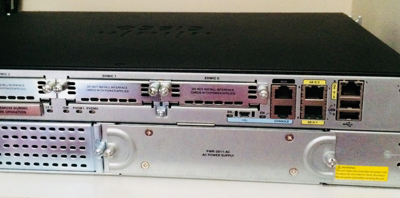 Cisco 2911 router – Netsale